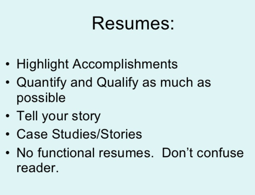 resume service chicago